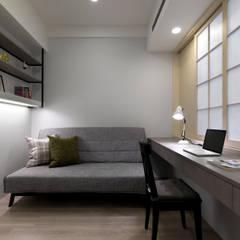 Estudios y oficinas de estilo escandinavo por 倍果設計有限公司
