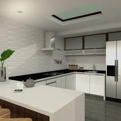 comedor cocina: Cocinas de estilo  por JELKH Design Architects s.a.s