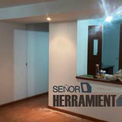 renovacion pintura apartamento: Comedores de estilo  por Señor herramientas