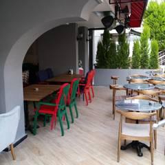 Etit Mimarlık Tasarım & Uygulama – Lunchbox Coffee:  tarz Bar & kulüpler
