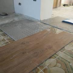 Ristrutturazione casa privata Taranto: Pareti in stile  di progettAREA interni & design