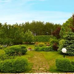 Декоративные элементы: Сады в . Автор – Укр Ландшафт Парк
