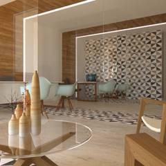 The Mayan Kingdom: Oficinas y tiendas de estilo  por Hipercubo Arquitectura