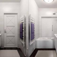 Квартира, Боровляны: Ванные комнаты в . Автор – Осейко Алексей и Виктория