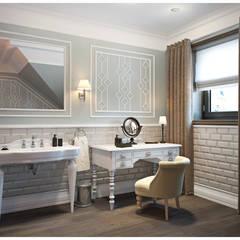 Частный дом, Москва: Ванные комнаты в . Автор – Осейко Алексей и Виктория