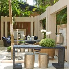 Terraços  Charmosos : Terraços  por Interart Design de Interiores