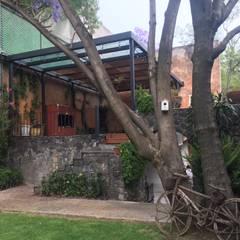Terraza en Proceso Gremio-SCO: Jardines de estilo colonial por gremio