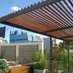 Terrace by Arquitecta MORIELLO