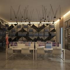 Inan AYDOGAN /IA  Interior Design Office – ATAKÖY TOWERS :  tarz Ofis Alanları