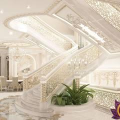 Best  interior design house ideas of Katrina Antonovich                 :  Corridor & hallway by Luxury Antonovich Design