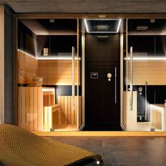 CASA RBN (2015): Spa de estilo  por unoenseis Estudio,Moderno