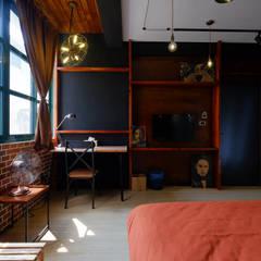 走進福爾摩斯 Baker Street 貝克街的英倫套房:  飯店 by Lee Design International 空間&室內設計, 古典風 木頭 Wood effect