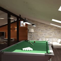 Villa: classic Media room by Design studio by Anastasia Kovalchuk
