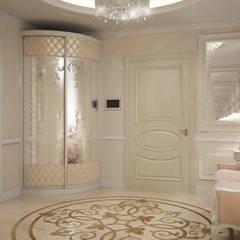 Villa:  Corridor & hallway by Design studio by Anastasia Kovalchuk