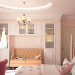 Villa:  Nursery/kid's room by Design studio by Anastasia Kovalchuk