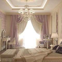 Villa:  Bedroom by Design studio by Anastasia Kovalchuk