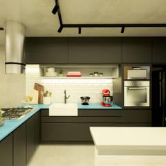 Cocinas de estilo  por Daniela Simões Arquitetura e Interiores,