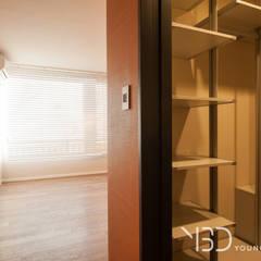 서빙고동 신동아아파트 : 영보디자인  YOUNGBO DESIGN의  드레스 룸,모던