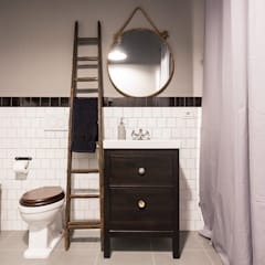 Bathroom by NOMADE ARCHITETTURA E INTERIOR DESIGN, Industrial