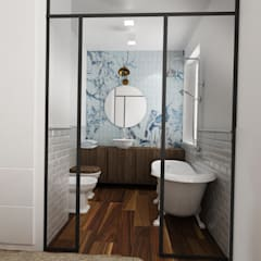 Bathroom by Euga Design Studio, Industrial
