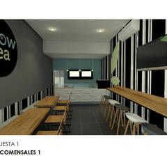 : Espacios comerciales de estilo  por Interiorista Teresa Avila