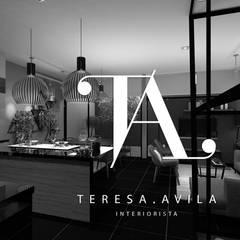 : Casas de estilo  por Interiorista Teresa Avila, Rústico