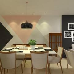 Phòng ăn by Atelie 3 Arquitetura