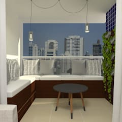 Terrace by Atelie 3 Arquitetura