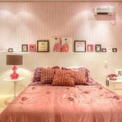 : Quartos  por Aleggra Design & Arquitetura - Janaina Naves