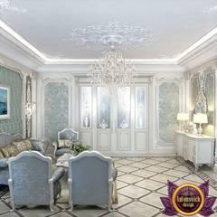 Masterpiece of interior design from Katrina Antonovich:  Living room by Luxury Antonovich Design, Classic