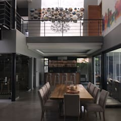 Dining room by Graftink Interior and Architectural Design Studio ,