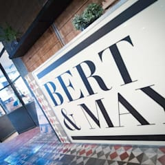Bert & May's London E2 showroom - Internal Steel Clement Screen :  Commercial Spaces by Clement Windows