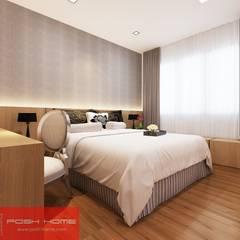 Modern Interior Design - Posh Home (Tempanise Central):  Bedroom by Posh Home,