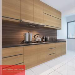 kitchen - Tempanise Central: modern Kitchen by Posh Home