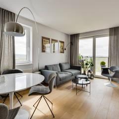 : minimalistische Wohnzimmer von KAST design