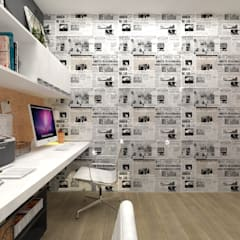 Study/office by Atelie 3 Arquitetura