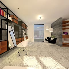 MANDARINE SKY - BEAUTY SALON: Spa de estilo  por JCP INTERIOR DESIGN