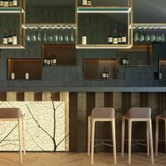 Restaurant concept «STEP'»: Ресторации в . Автор – ZIKZAK architects