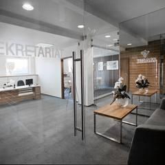Brzesko: styl , w kategorii Przestrzenie biurowe i magazynowe zaprojektowany przez Goryjewska.Górnisiewicz