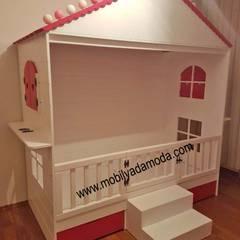 Çocuk odası için orijinal fikir bebeğin hayallerinin gerçek olmasına yardımcı olacak