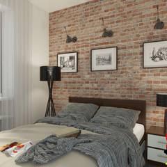 غرفة نوم تنفيذ Andrea Vertua Architetto,