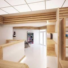 Салон техники Apple MacTime дизайн интерьера Россия, Симферополь: Торговые центры в . Автор – Арт-Идея