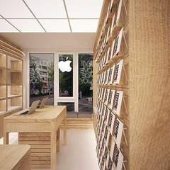Салон техники Apple MacTime дизайн интерьера Россия, Симферополь: Коммерческие помещения в . Автор – Арт-Идея