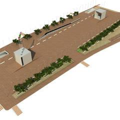 Praça dos 3 Poderes - SC: Locais de eventos  por Promenade Arquitetura