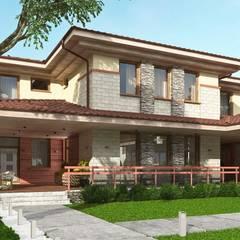 Дом в стиле 'Прерий' (МО): Дома в . Автор – Архитектурное бюро Art&Brick,