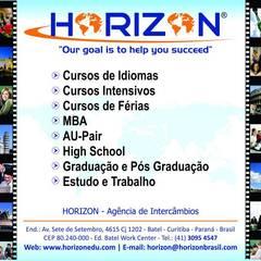 Horizon cursos e intercâmbios - Curitiba: Lojas e imóveis comerciais  por Rodrigo Capato Herrera Arquitetura