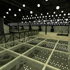 Casa de espetáculos e eventos em Curitiba: Locais de eventos  por Rodrigo Capato Herrera Arquitetura