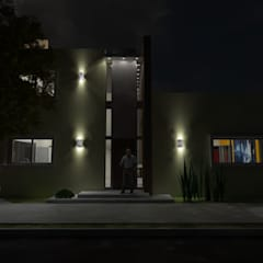 Maisons de style  par Gastón Blanco Arquitecto, Moderne