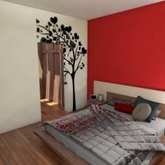 Dormitorio Principal: Dormitorios de estilo  por Gastón Blanco Arquitecto
