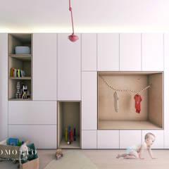 Coromotto Interior Design: eklektik tarz tarz Çocuk Odası